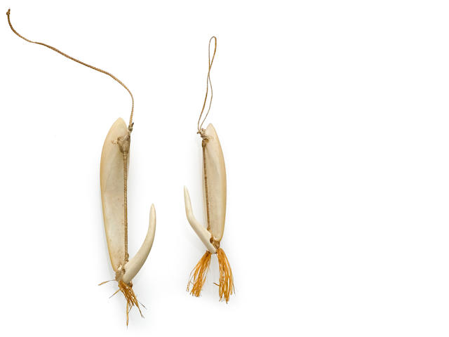 Pair of Fishing Lures, Hawaiian Islands