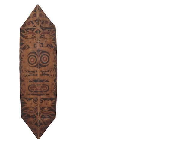Kayan/Kenya Dayak War Shield, Kalimantan, Borneo Island