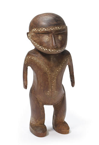 Massim Figure, Milne Bay Province, Papua New Guinea