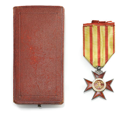 Royal Order of Kapiolani Companion Cross Medal, in Original Box