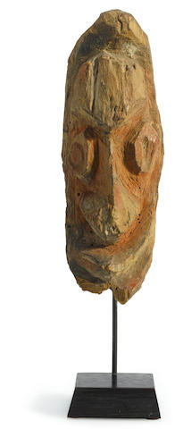 Ewa Fragment Head from an Aripa Figure, Karawari/Krosmeri River Area, Papua New Guinea