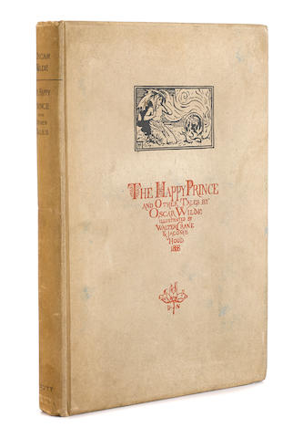 WILDE, OSCAR. 1854-1900.  The Happy Prince and Other Tales. London: David Nutt, 1888.