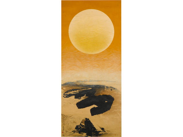 Liu Guosong (Born 1932) Which is Earth? No 96, 1970-1971
