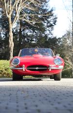 <B>1963 Jaguar  E-Type Series 1 3.8-Liter Roadster </B><br />Chassis no. 880753 <br />Engine no. RA 4734-9