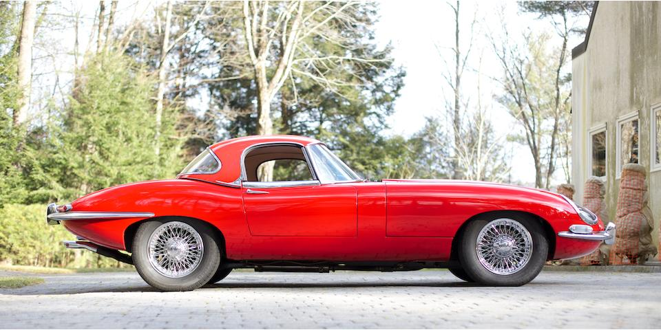 1964 Jaguar  E-Type Roadster  Chassis no. 880753 Engine no. RA4734-9