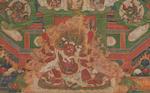 A Gelugpa lineage mandala Tibet, circa 1800