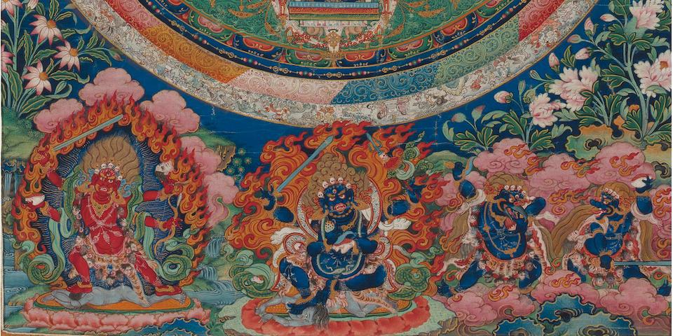 A Chakrasamvara Mandala Central Tibet, 18th century