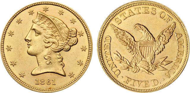 1861 $5