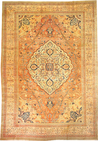 A Hadji Jalili Tabriz carpet  Northwest Persia approximately 15ft. 11in. x 11ft. 1in.