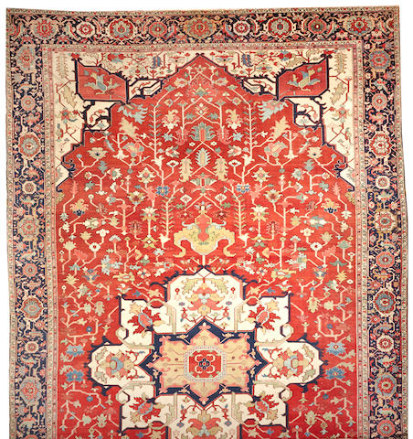 A Serapi carpet Northwest Persia size approximately 14ft. 4in. x 25ft.