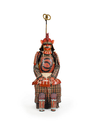 A red lacquer armor Edo period (18th century)