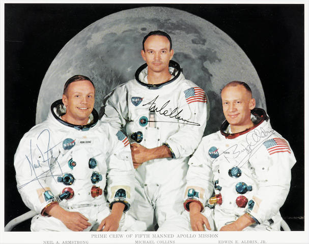 APOLLO 11 CREW PHOTO.