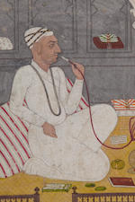 A portrait of a learned pundit Lucknow, circa 1780