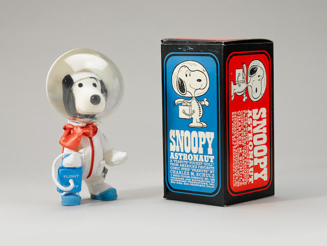 MASCOT OF THE APOLLO X LM CREW - SIGNED.