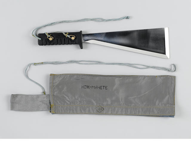 COSMONAUT SURVIVAL MACHETE.