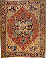 A Serapi carpet  Northwest Persia size approximately 9ft. 9in. x 12ft. 1in.