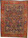 A Heriz carpet Northwest Persia size approximately 8ft. 9in. x 12ft.
