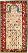 A Shirvan rug  Caucasus size approximately 3ft. 1in. x 5ft. 7in.