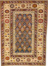 A Shirvan rug  Caucasus size approximately 4ft. 3in. x 3ft. 1in.