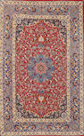 An Isphahan rug  South Central Persia size approximately 3ft. 6in. x 5ft. 6in.