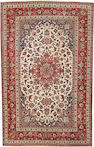 An Isphahan long carpet  South Central Persia  size approximately 6ft. 9in. x 10ft. 9in.