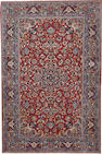 An Isphahan rug  South Central Persia  size approximately 4ft. 8in. x 7ft. 1in.