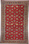 A Hamadan carpet  Cenral Persia  size approximately 11ft. 4in. x 18ft. 11in.