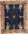 A Chinese carpet  China size approximately 8ft. 1in. x 9ft. 7in.