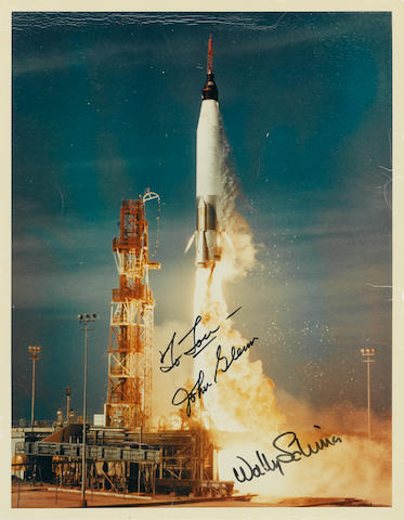MERCURY ATLAS LAUNCH.