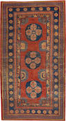 A Khotan rug  Turkestan size approximately 4ft. x 7ft. 4in.
