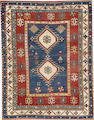 A Bodjalu Kazak rug  Caucasus  size approximately 3ft. 11in. x 5ft. 5in.