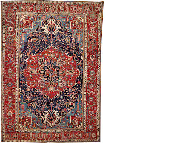 A Serapi carpet  Northwest Persia size approximately 14ft. x 20ft.