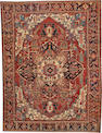 A Serapi carpet  Northwest Persia size approximately 9ft. 2in. x 12ft.
