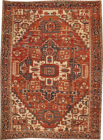 A Serapi carpet  Northwest Persia size approximately 11ft. 5in. x 15ft. 4in.