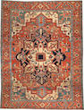 A Serapi carpet  Northwest Persia size approximately 9ft. x 11ft. 8in.