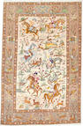 A Tabriz rug  Northwest Persia size approximately 5ft. 9in. x 8ft. 11in.