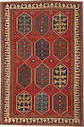 A Kazak rug   Caucasus size approximately 5ft. 2in. x 7ft. 9in.