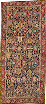 A Karabagh long carpet  Caucasus size approximately 7ft. 4in. x 16ft. 9in.