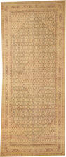 A Fereghan long carpet  Central Persia size approximately 8ft. 4in. x 19ft. 8in.