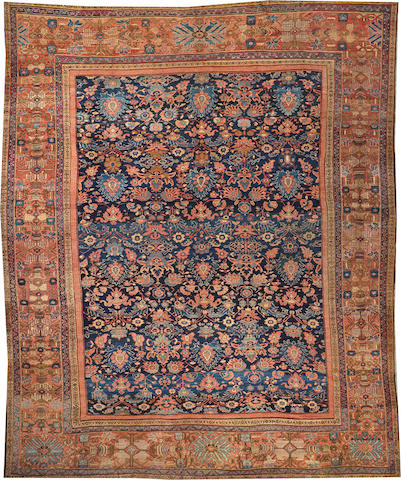 A Sultanabad carpet  Central Persia size approximately 13ft. 7in. x 16ft. 8in.