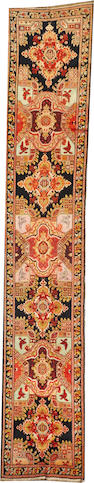 A Karabagh runner  Caucasus size approximately 3ft. 5in. x 19ft.