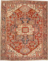 A Serapi carpet    Northwest Persia size approximately 10ft. 1in x 12ft. 7in.