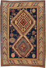 A Shirvan rug  Caucasus size approximately 5ft. x 7ft. 2in.