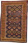 A Kurdish rug  Northwest Persia size approximately 4ft. x 6ft. 1in.