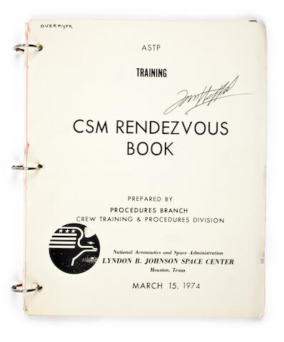 MANUALS FOR THE APOLLO-SOYUZ TEST PROJECT.