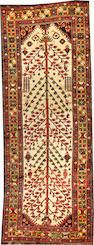 A Bakhtiari runner  Southwest Persia size approximately 4ft. x 10ft. 6in.
