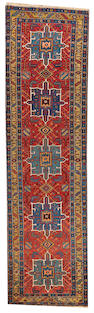 A Northwest Persian runner  Northwest Persia size approximately 3ft. x 10ft. 10in.