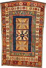 A Caucasian rug  Caucasus size approximately 4ft. 5in. x 6ft. 6in.