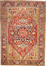 A Heriz carpet  Northwest Persia size approximately 7ft. 2in. x 10ft. 4in.