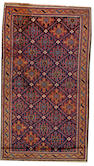 A Belouch rug  Northeast Persia size approximately 2ft. 7in. x 4ft. 7in.